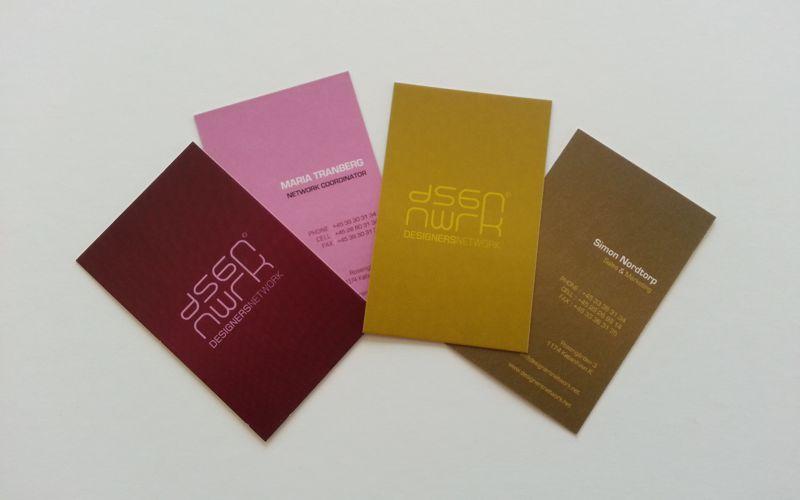 Offset trykt visitkort i god kvalitet til fornuftig pris