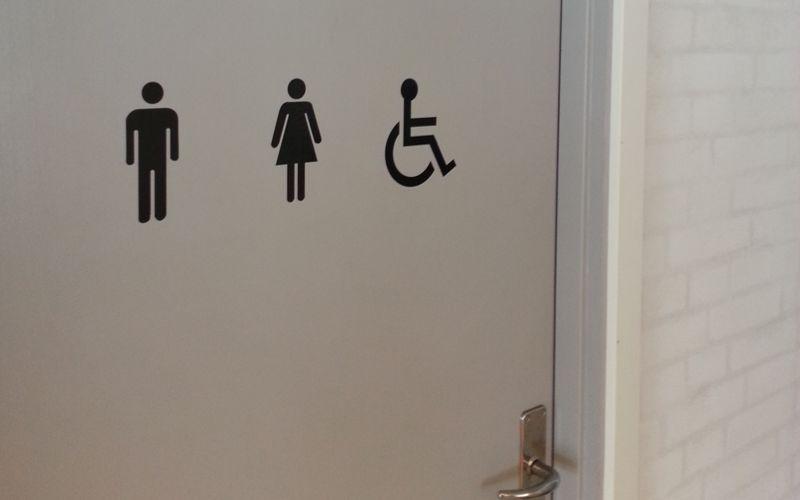 piktogram toilet og handicaptoilet
