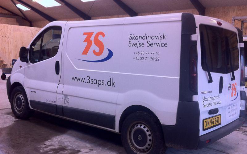 mellem bildekoration - skandinavisk svejse service