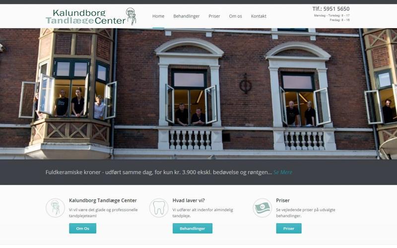 webside design med responsivt mobilvenligt design